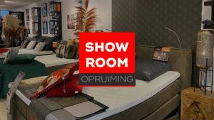 Showroom opruimingen
